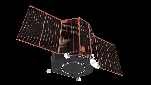 Artist's impression of ESA's PLATO spacecraft