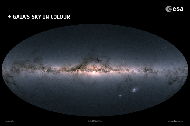 ESA Science & Technology - Gaia's sky in colour