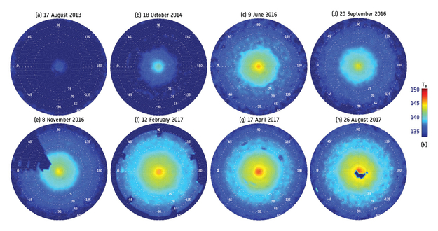 ESA Science & Technology - Brightness maps of the ...