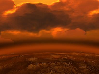 Venus-atmopshere