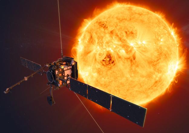 V pondělí brzy ráno vyletí do vesmíru sonda Solar Orbiter, která bude zkoumat póly Slunce