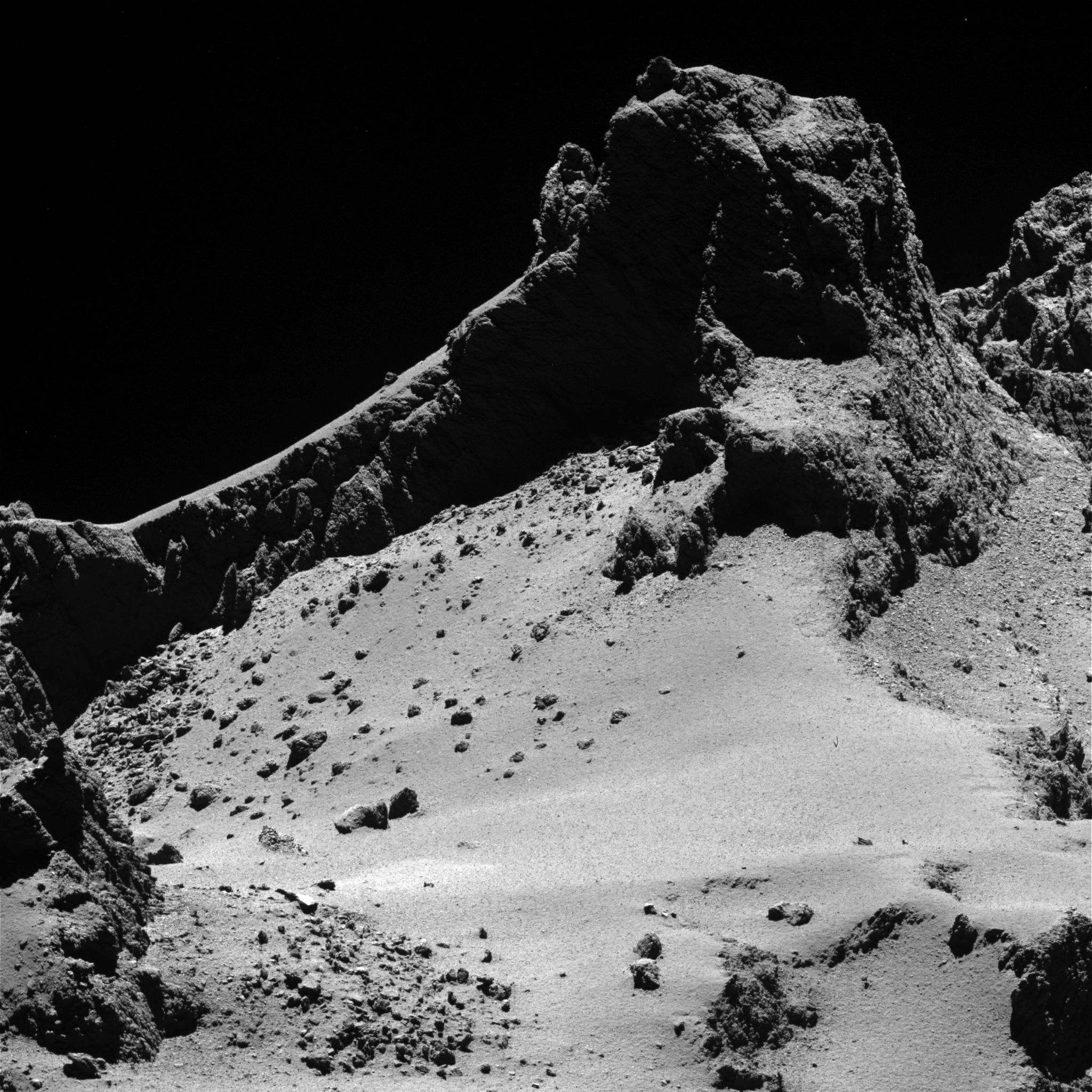 ESA Science & Technology: Comet 67P/C-G from 8 km