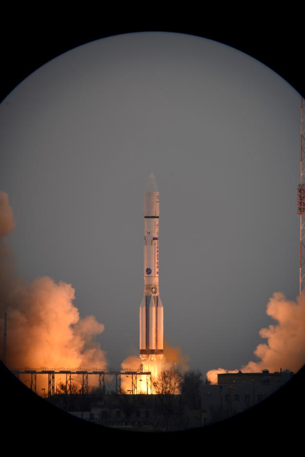 ESA  Robotic Exploration of Mars: ExoMars 2016 liftoff