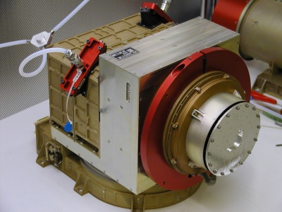 ASPERA-3 Main Unit. Image courtesy of and © 2003 Swedish Institute of Space Physics.
