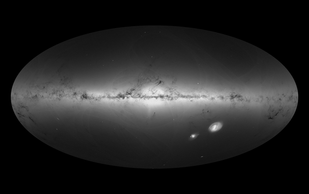 ESA Science & Technology: Gaia\'s new map of star density