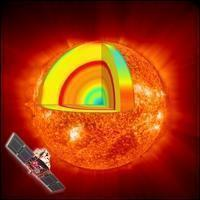 Fact Sheet: Artist's impression of the SOHO spacecraft