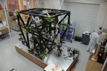 esa science amp technology isim structure assembly