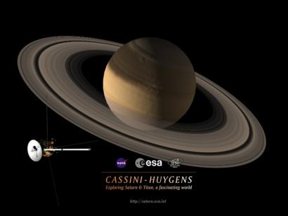 ESA Science & Technology: Cassini-Huygens Desktop Image