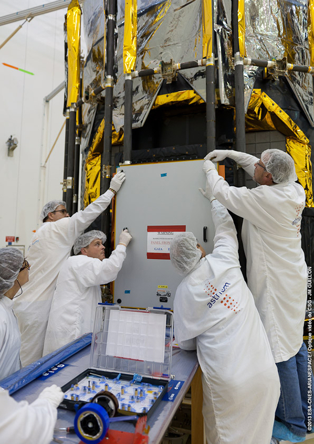 Esa Science Amp Technology Preparation Of Gaia S Deployable