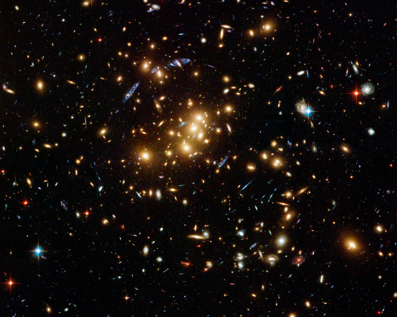 esa science technology hubble finds dark matter ring in