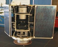 Thermal model of the Dutch ANS X-ray satellite