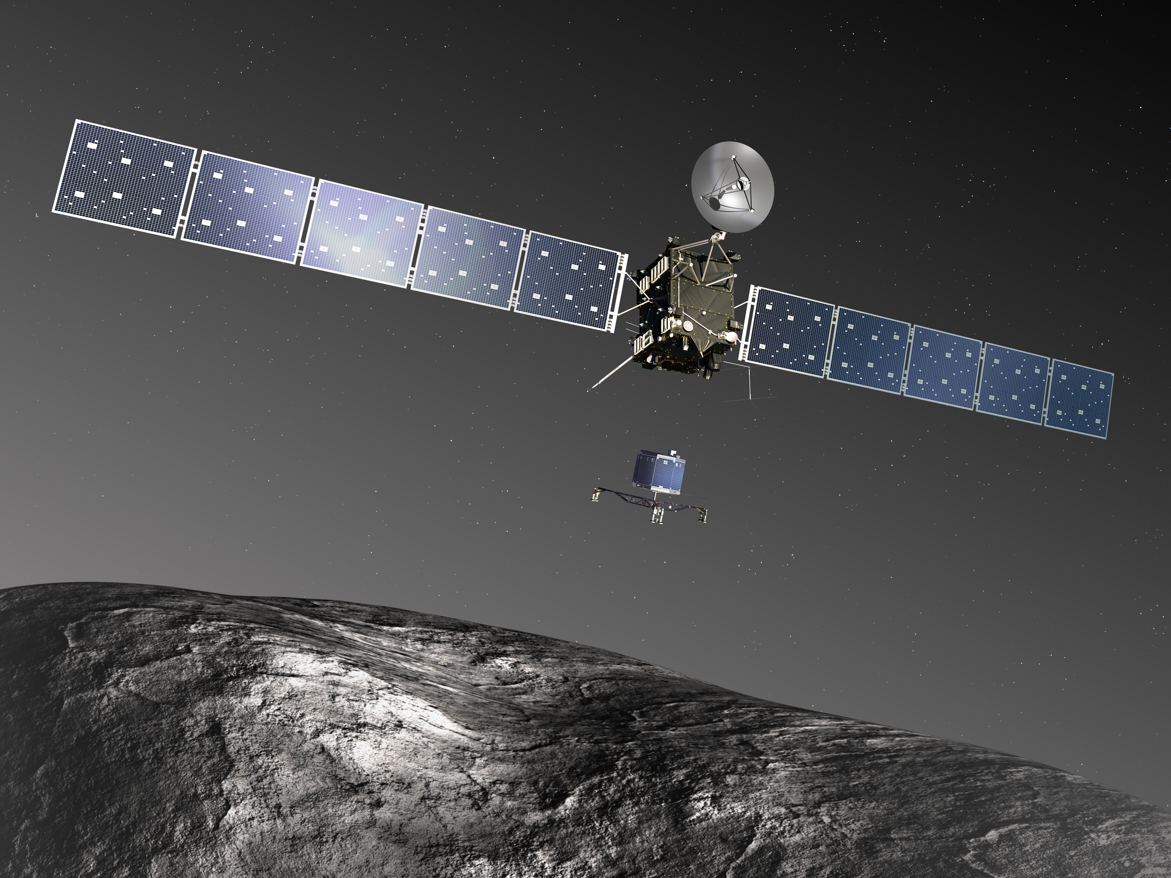 Rosette mission
