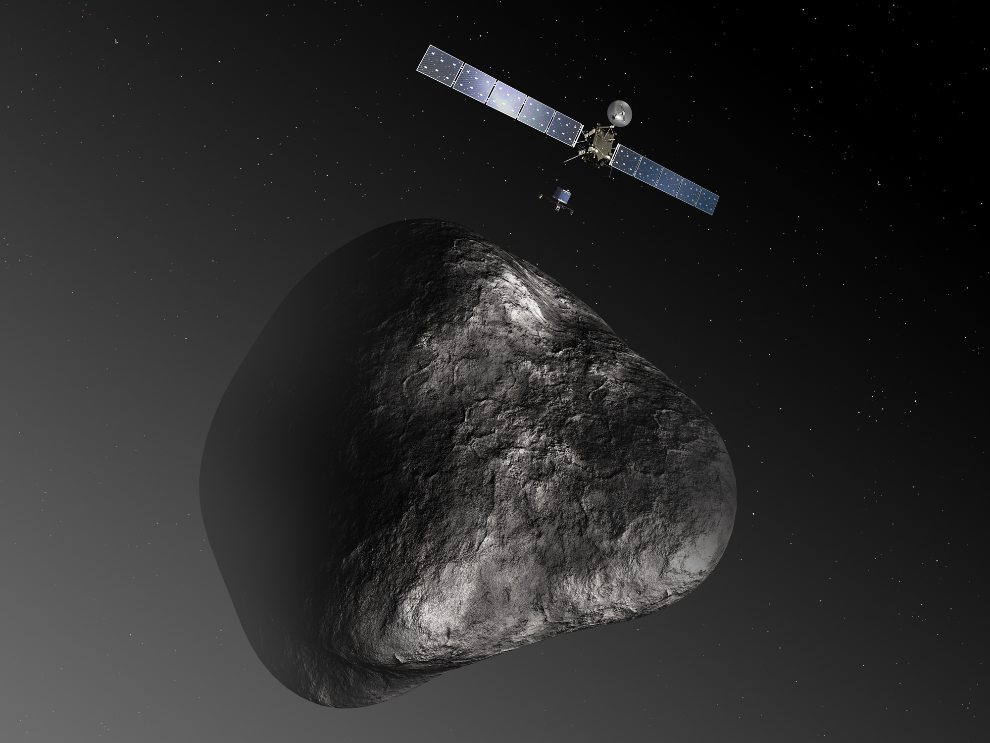 ESA Science & Technology: Rosetta and Philae at comet