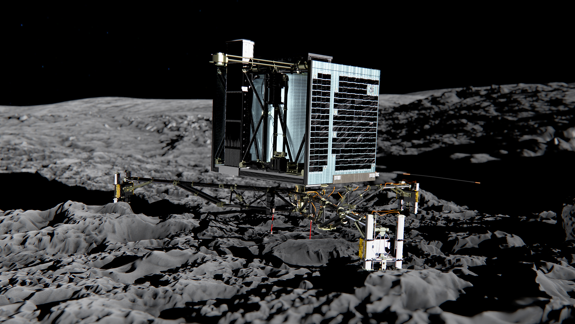 philae landings landers - photo #23