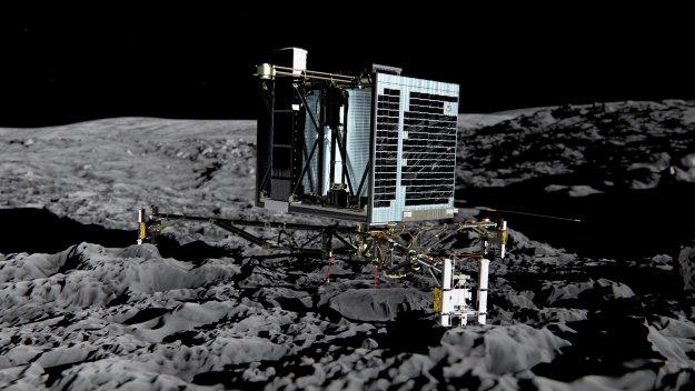 Módulo Philae nave Rosetta