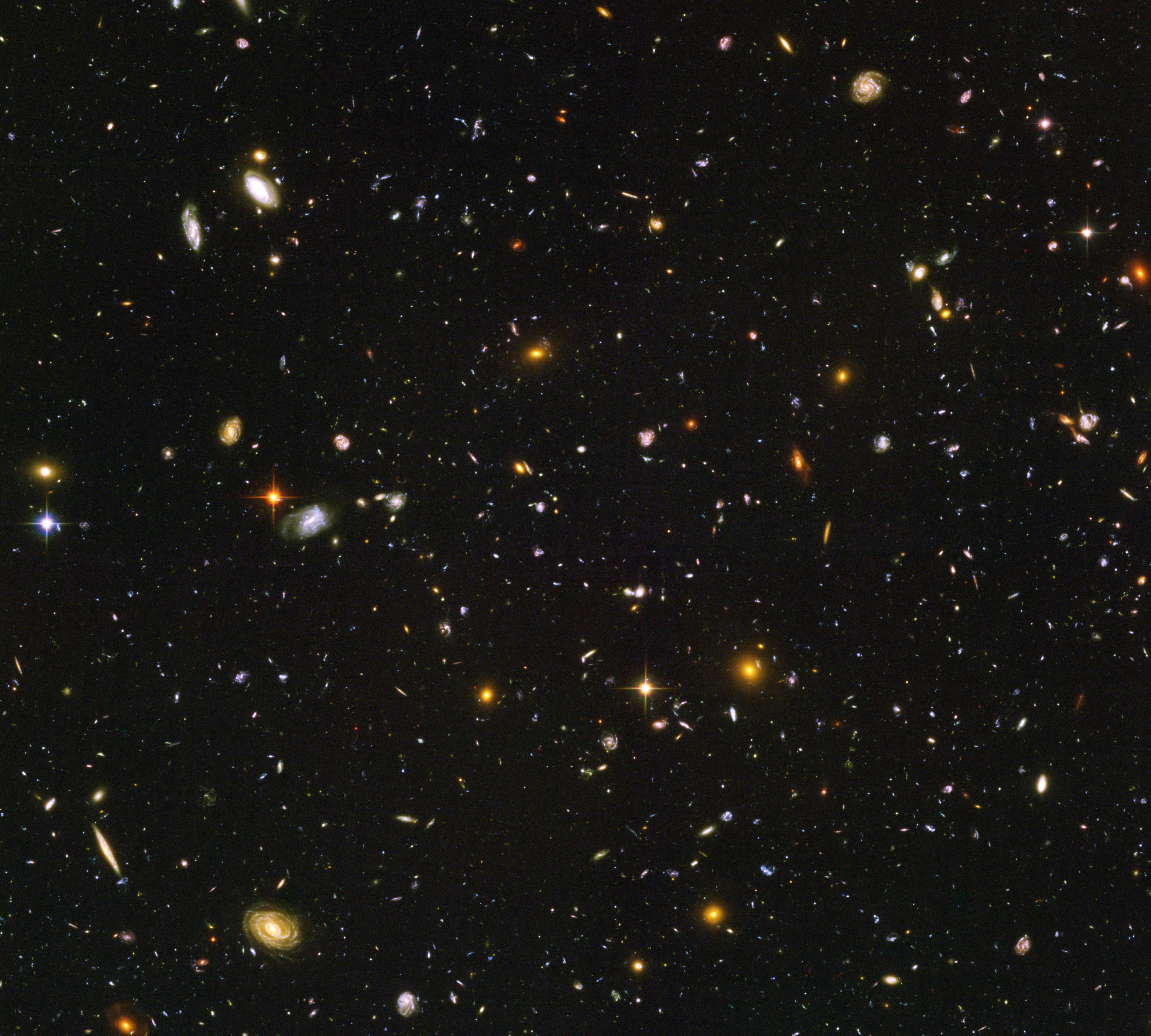 ESA Science & Technology: Hubble Ultra Deep Field