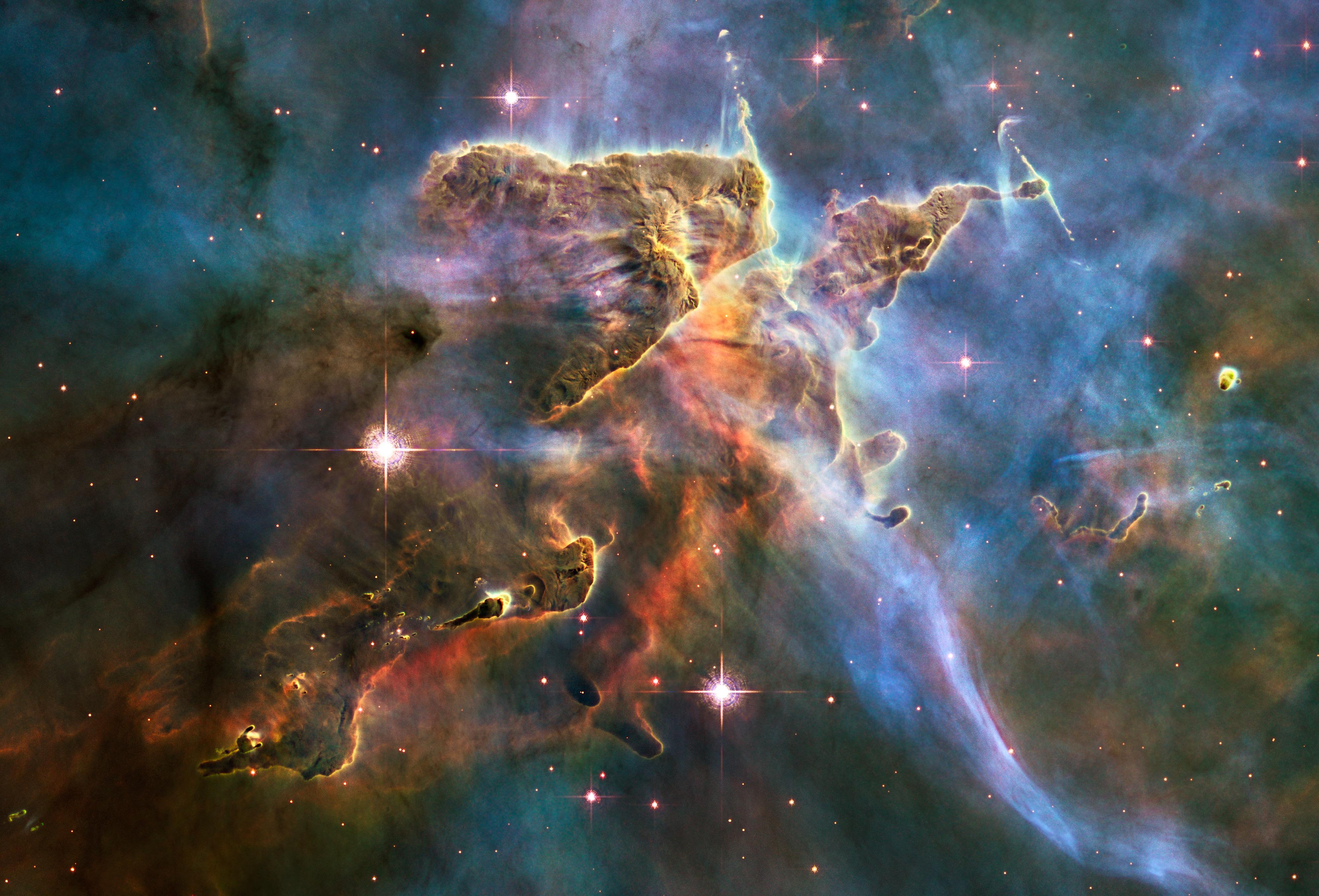 Carina Nebula Pillar Wallpaper  Space HD Wallpapers