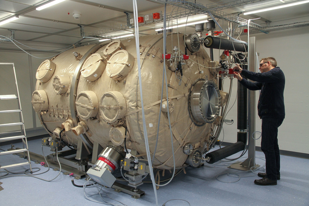 Vacuum Chamber For Testing The CHEOPS Payload