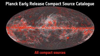 Planck - mapa kompaktnih izvorov