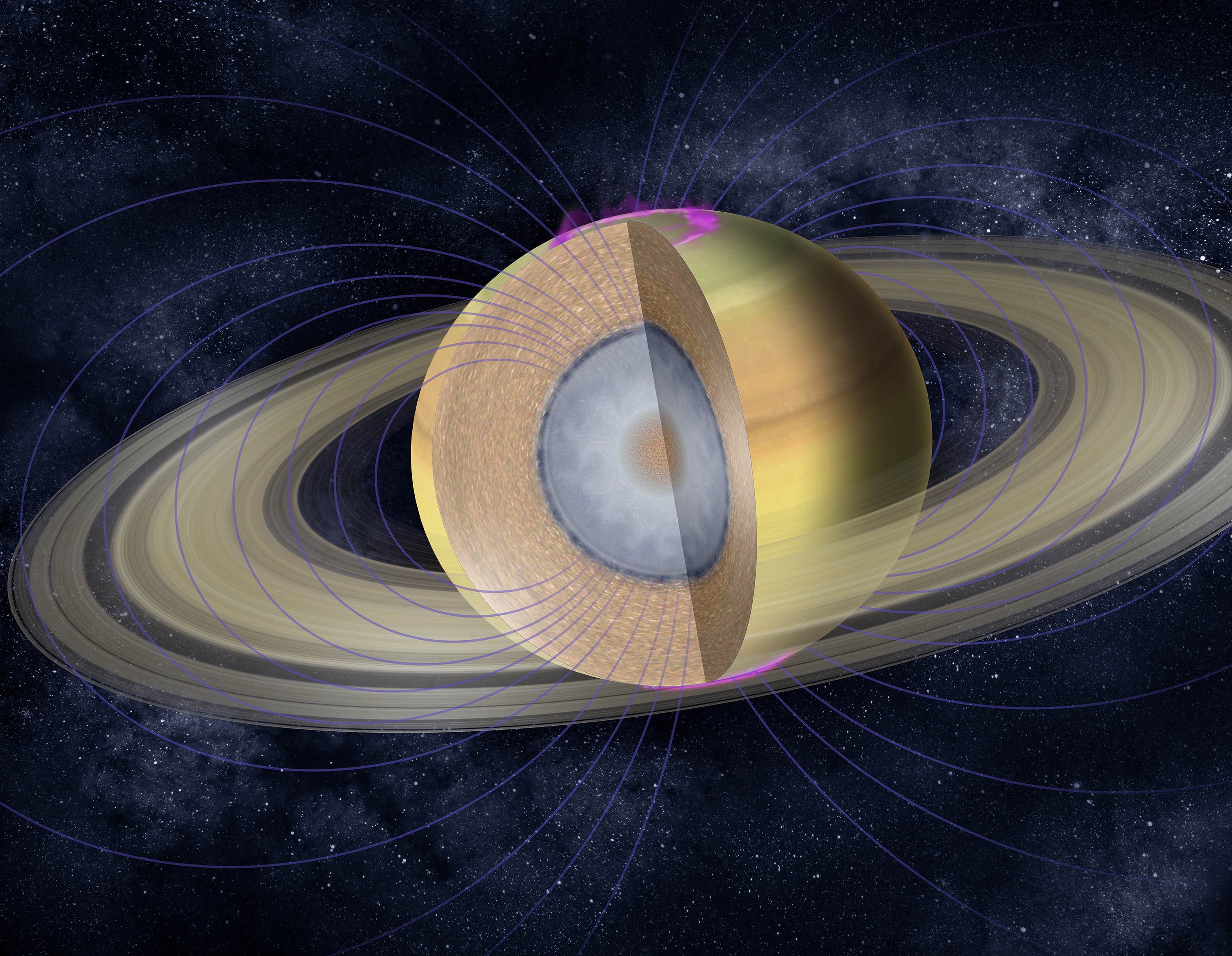 ESA Science & Technology: Internal structure of Saturn