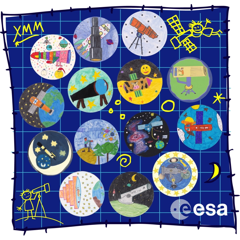 Science Technology: ESA Science & Technology: Draw Me A Telescope