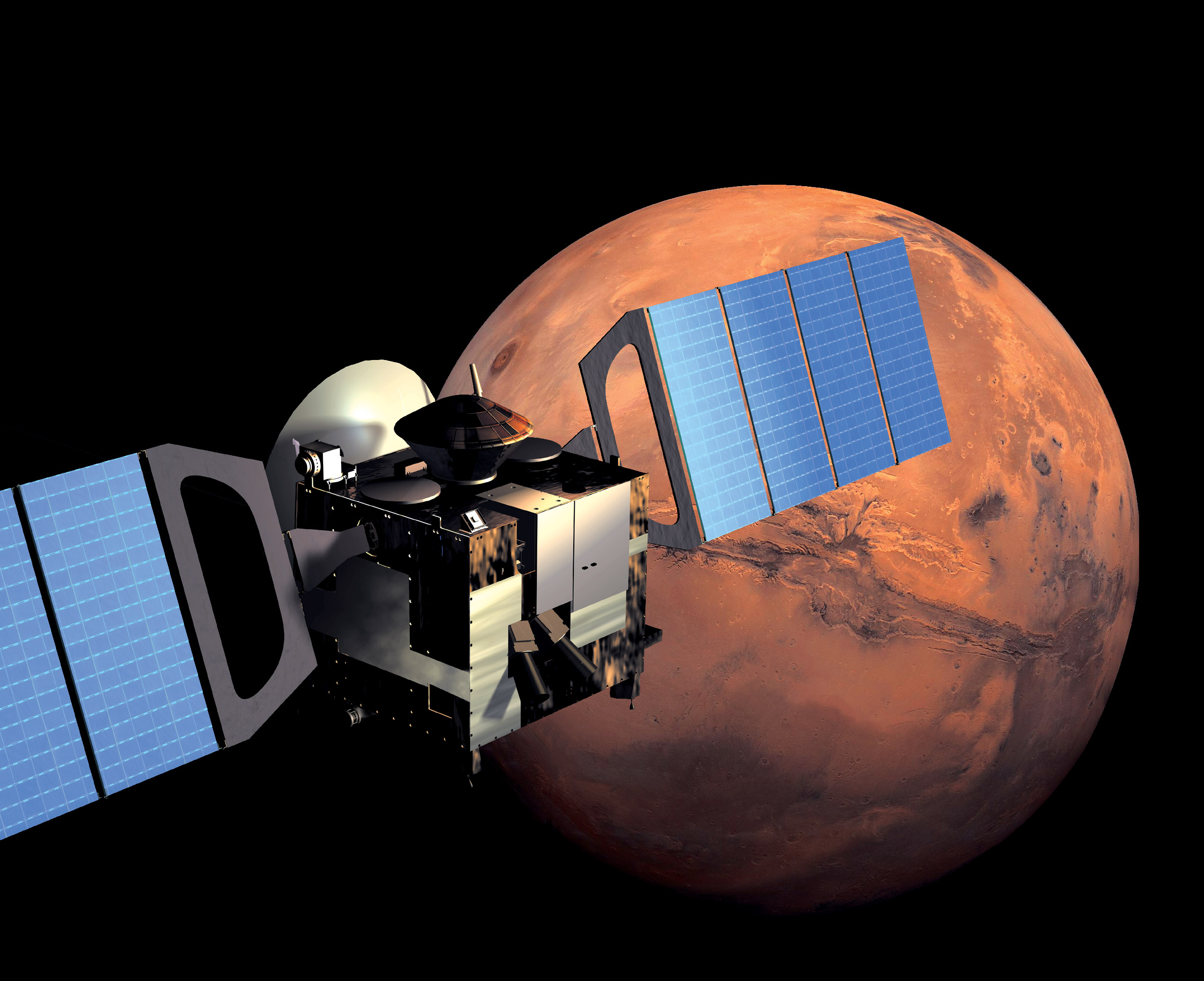 ESA Science & Technology: Mars Express in Orbit