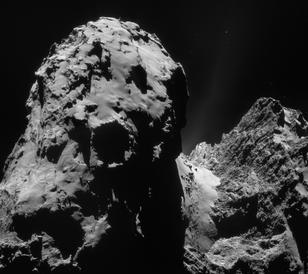 ESA Science & Technology: Comet 67P/C-G on 10 December ...