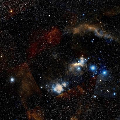 Planck - Observatoire spatial (ESA) Orion_DSS_410