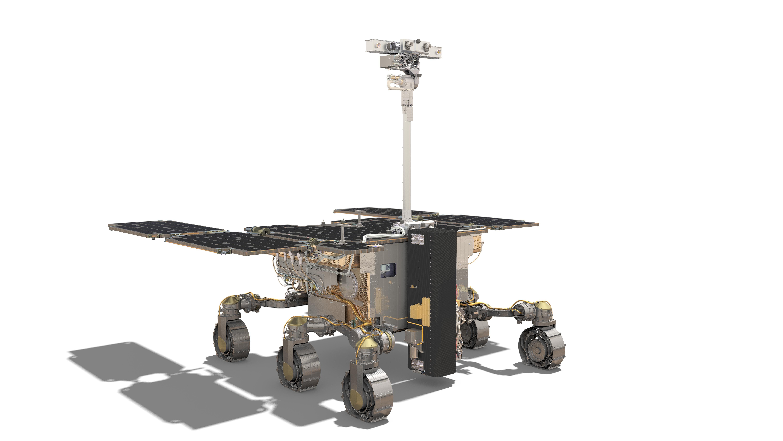 Esa Robotic Exploration Of Mars Exomars Rover Front View