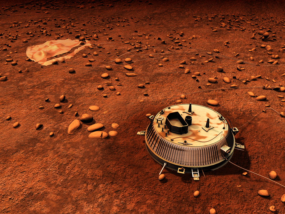 ESA Science & Technology: Huygens Lands on Titan