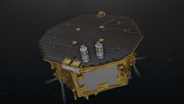 La sonde Lisa Pathfinder (dessin)