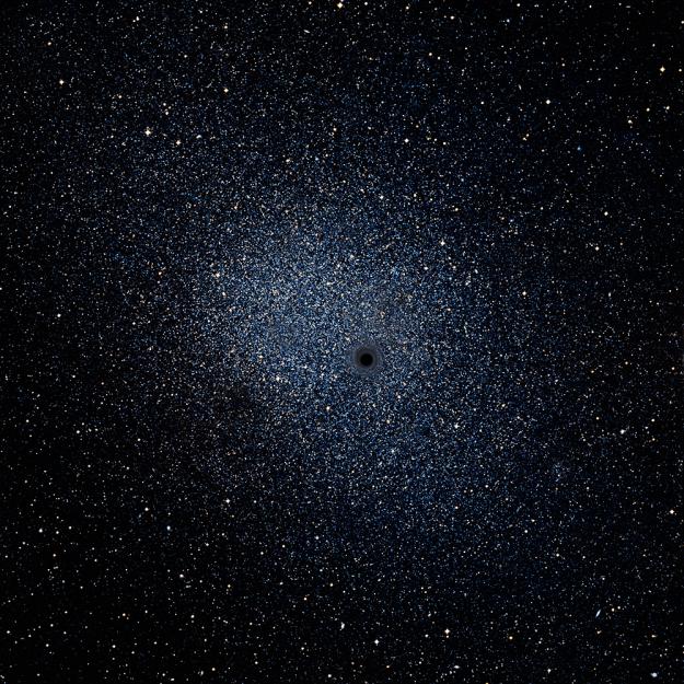 satellite images of black hole - photo #7