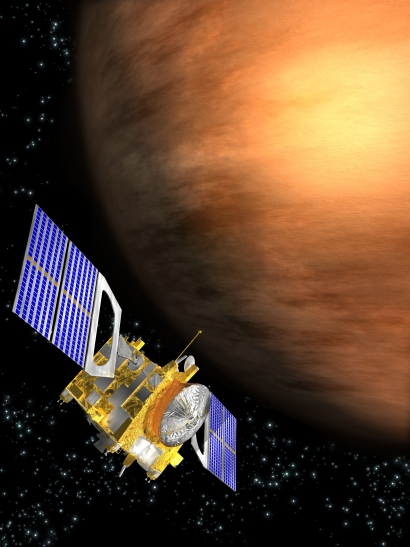 ESA Science & Technology: Venus Express Orbiting Venus