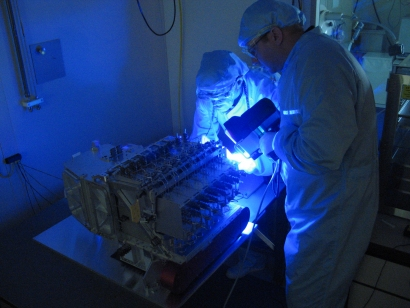 Esa Science Amp Technology Inspection Of Hifi With Uv Light