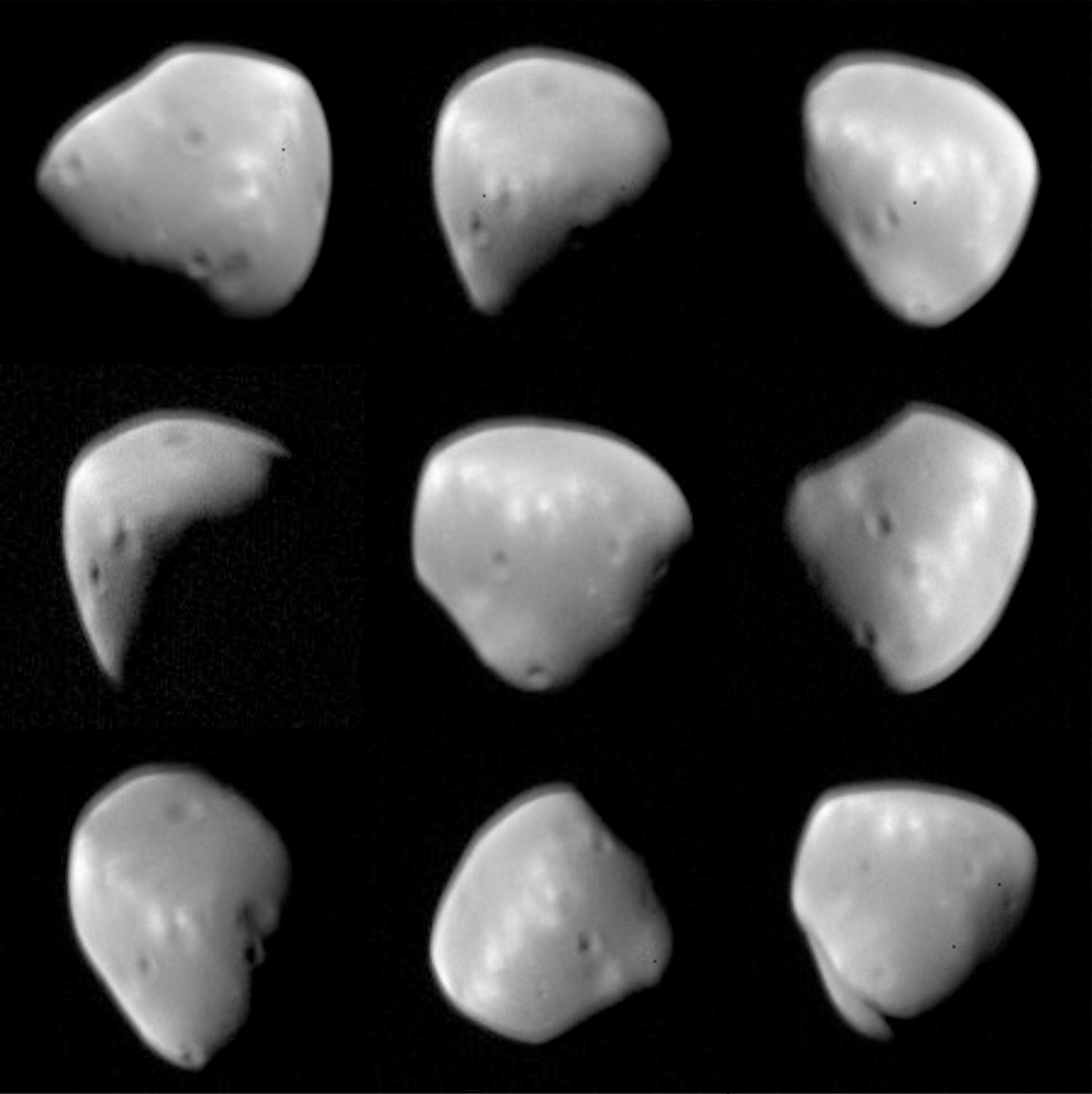 esa science  u0026 technology  images of deimos from mars express
