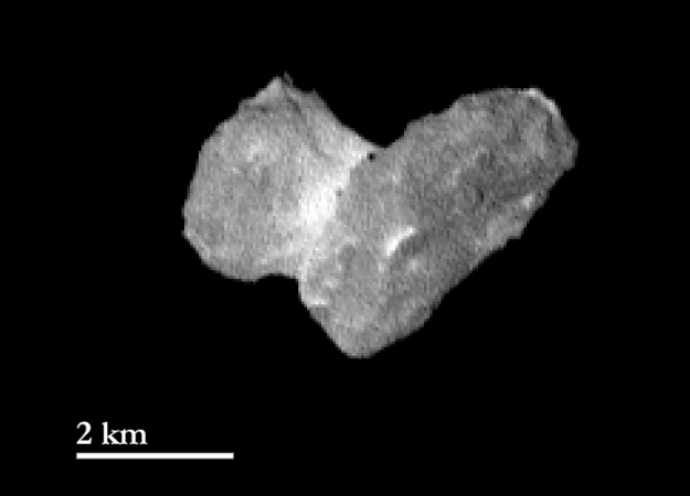 Rosetta comet from 5 days out