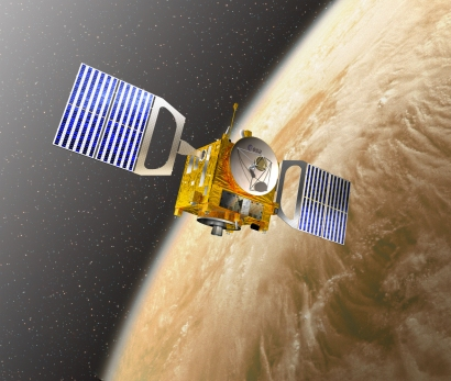 Venus Express, which is due to end its mission in May 2009 | Image: ESA