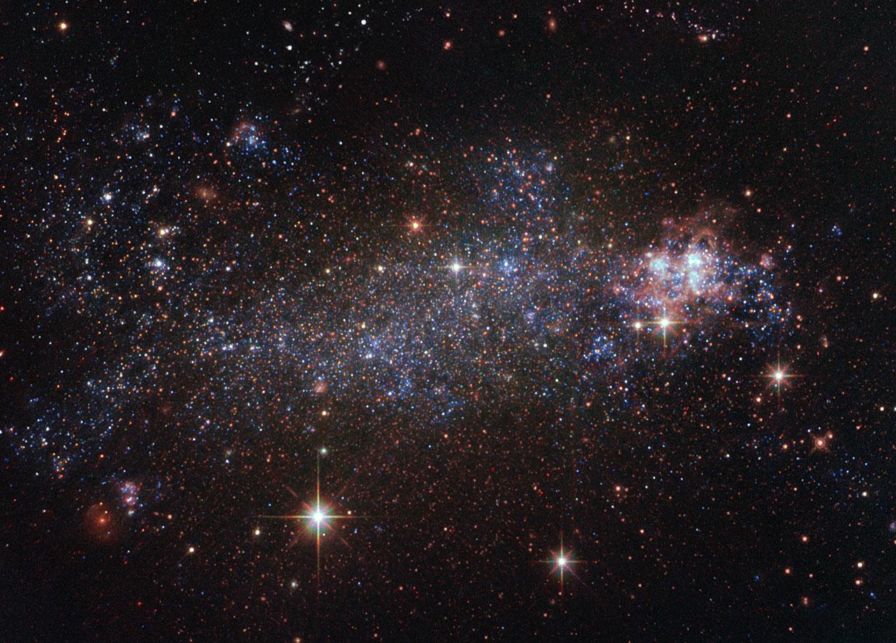 ESA Science & Technology: NGC 5408 galaxy