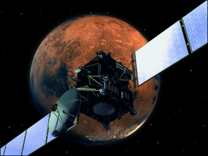 Rosetta : survol de Mars (25/02/2007) Screenimage_31275