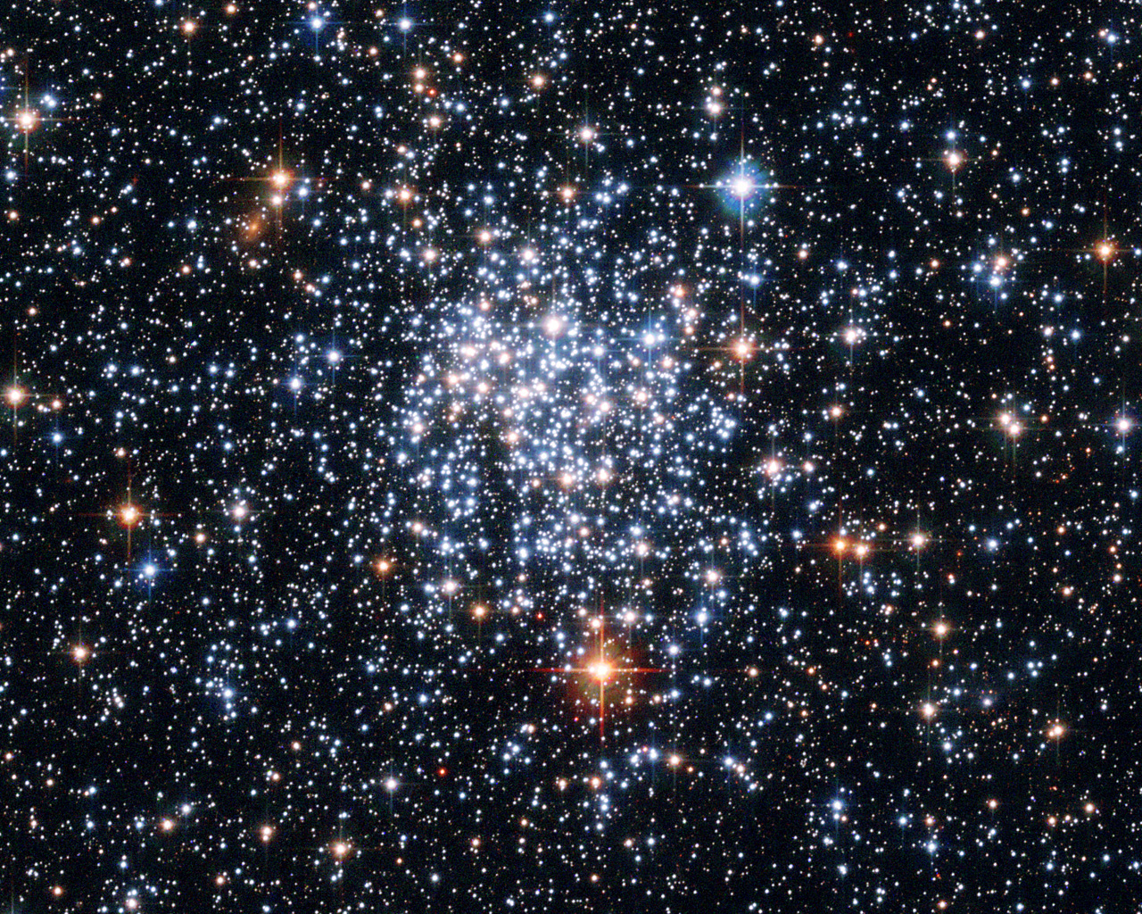 Star Cluster Wallpaper 1.1 mb