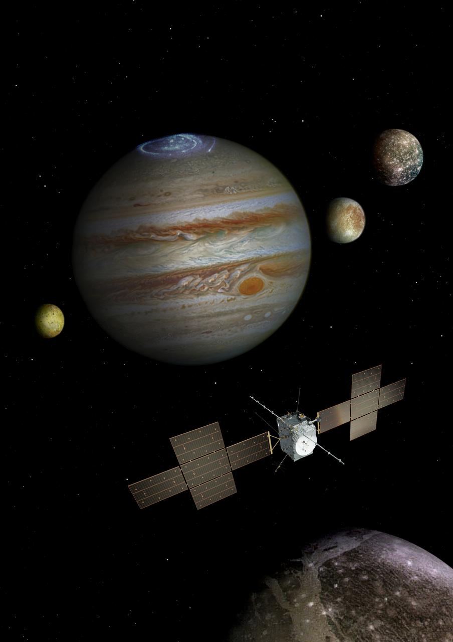 JUICE: jak poletí evropská sonda k Jupiteru? Využije gravitační síly 4 různých planet