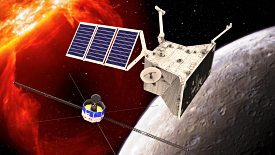 Artist's impression of BepiColombo