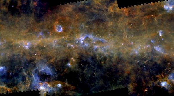 Stjernedannelser i Mælkevejen