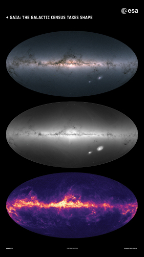 ESA Science & Technology: Gaia creates richest star map of our ...