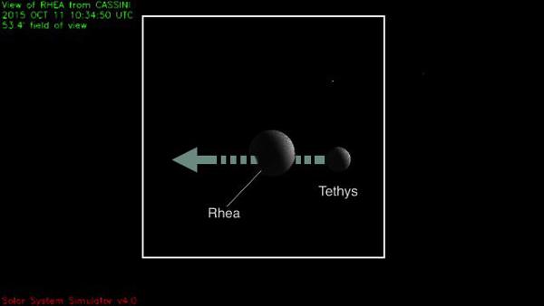 Target 3 Cassini
