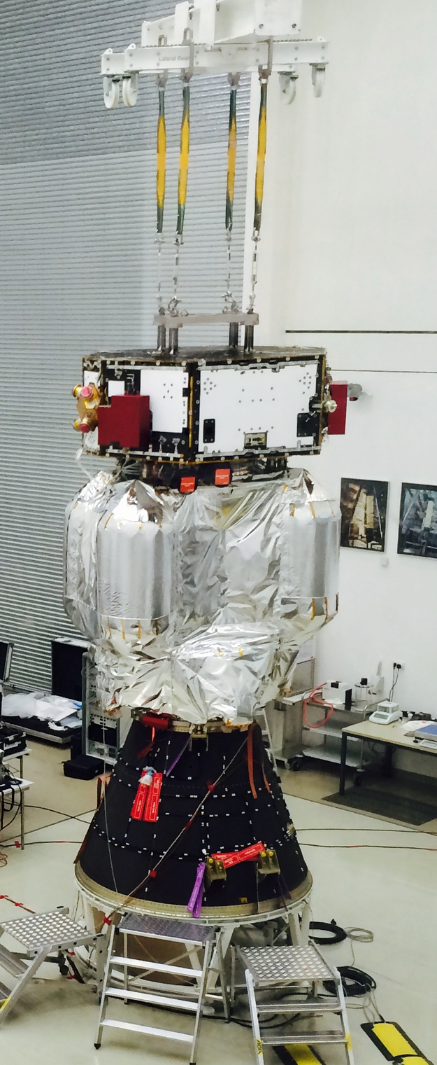 Vega VV06 (LISA Pathfinder) - 3.12.2015 LISA_Pathfinder_launch_adapter_fit_test_02_625