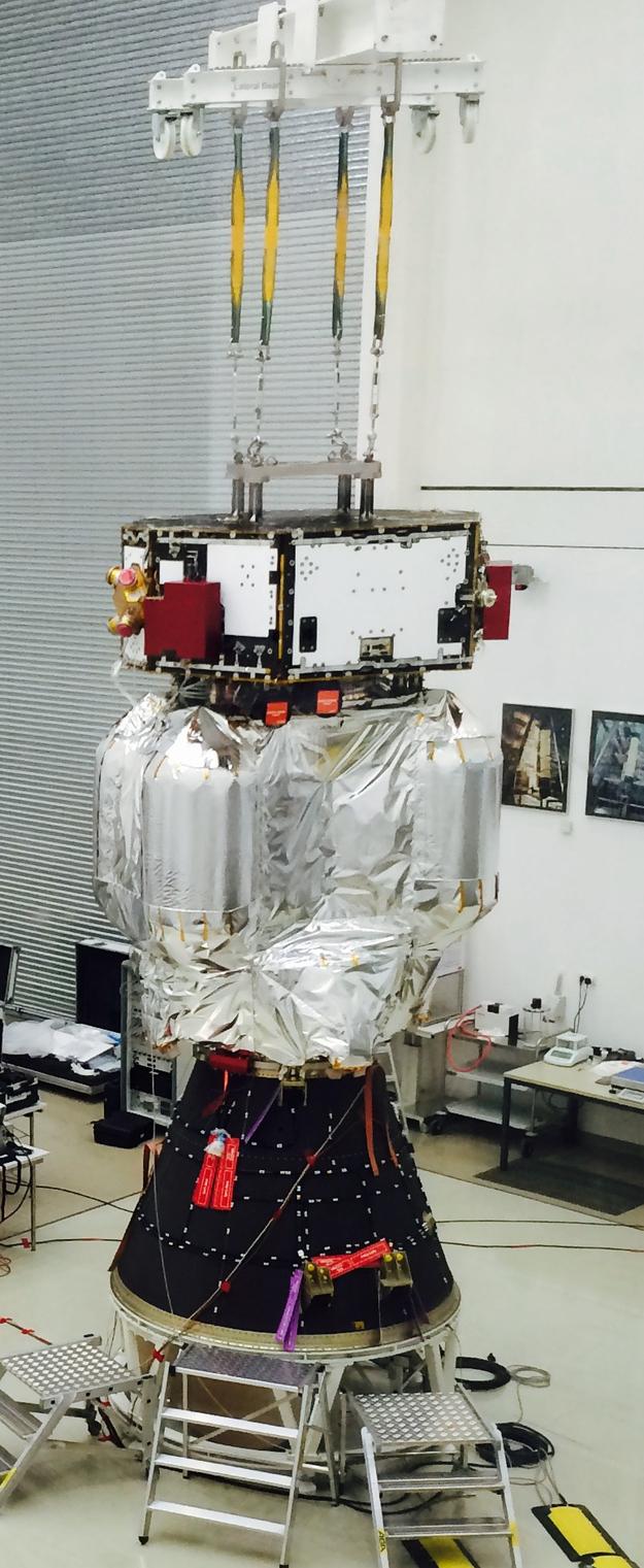 Vega VV06 (LISA Pathfinder) - 3.12.2015 LISA_Pathfinder_launch_adapter_fit_test_02_625