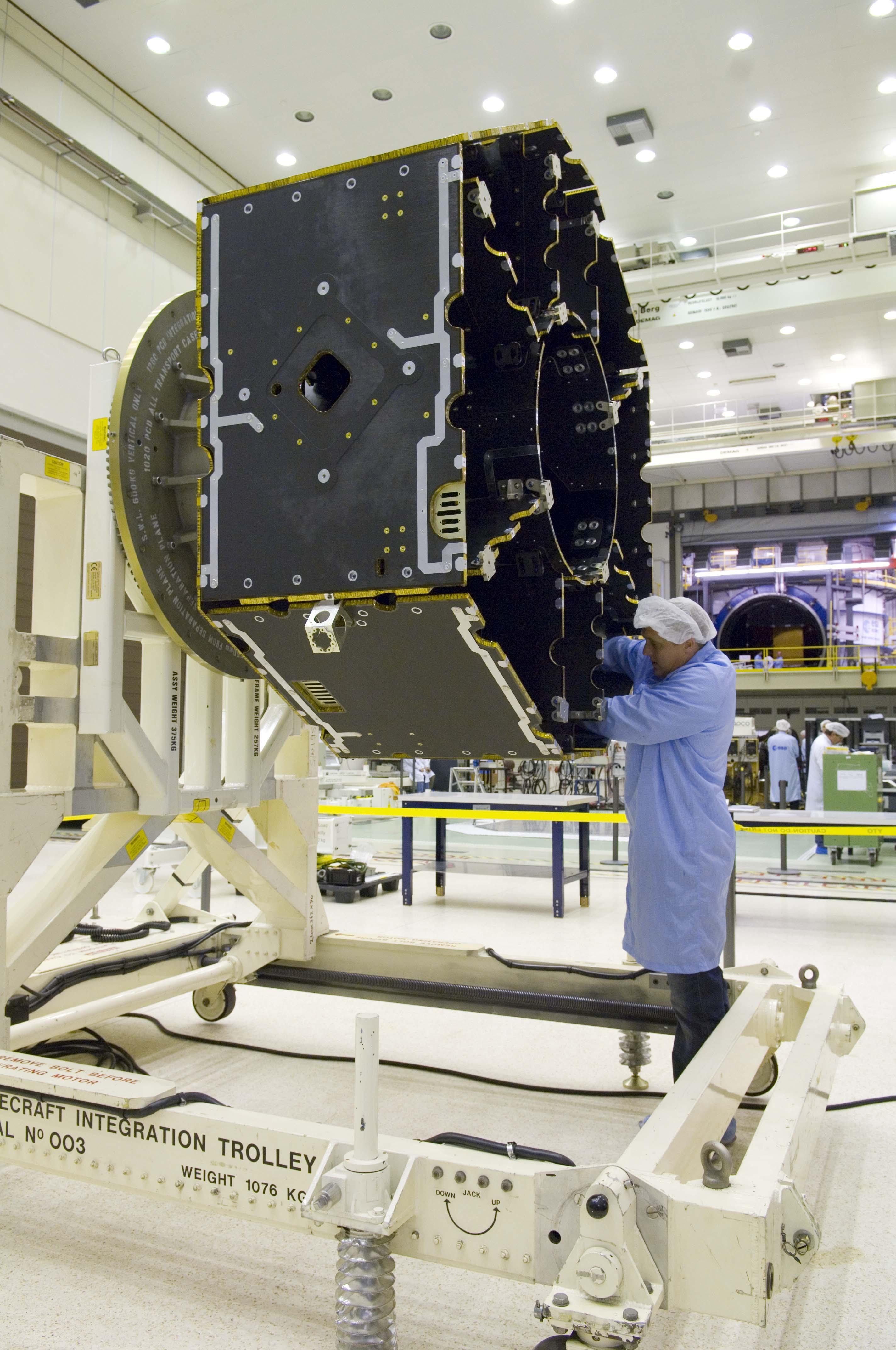 esa satellite structure - photo #3