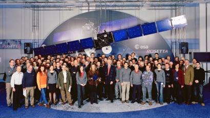 Rosetta Team at ESOC. Copyright ESA.