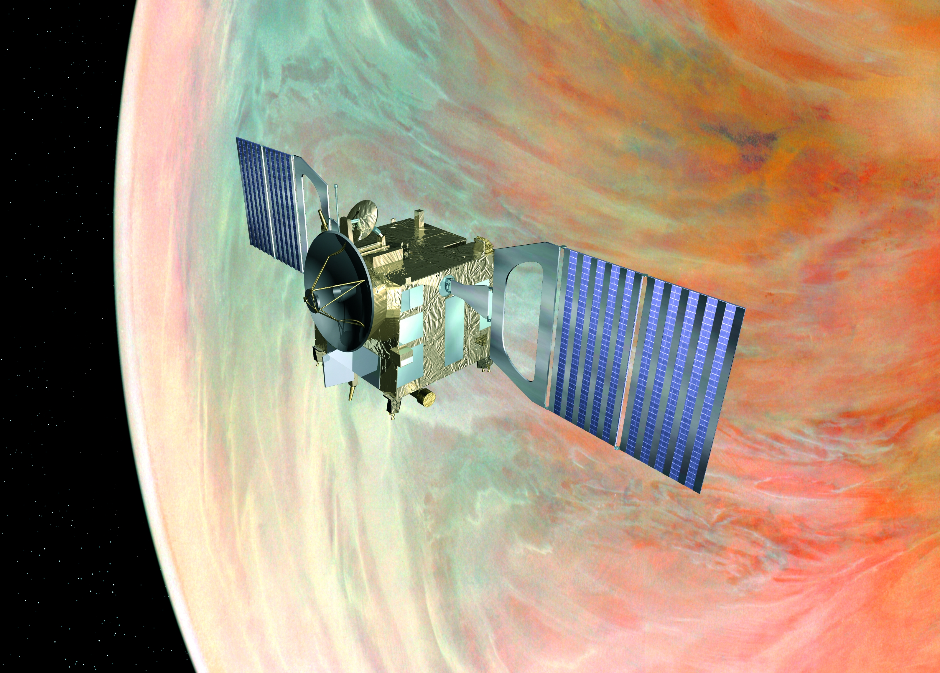esa venus express spacecraft - photo #14